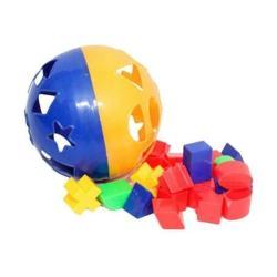 Mainan Edukatif Edukasi Anak Puzzle Ball Bola Pintar Bentuk Warna