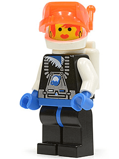 BrickLink   Minifig sp017   Lego Ice Planet Babe  Space Ice Planet     Lego Ice Planet Babe