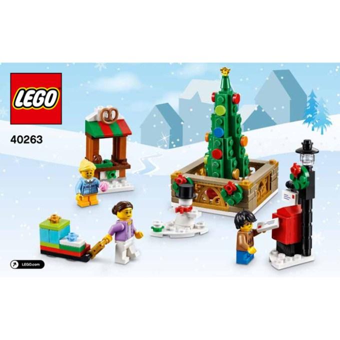Lego Christmas Instructions Christmaswalls