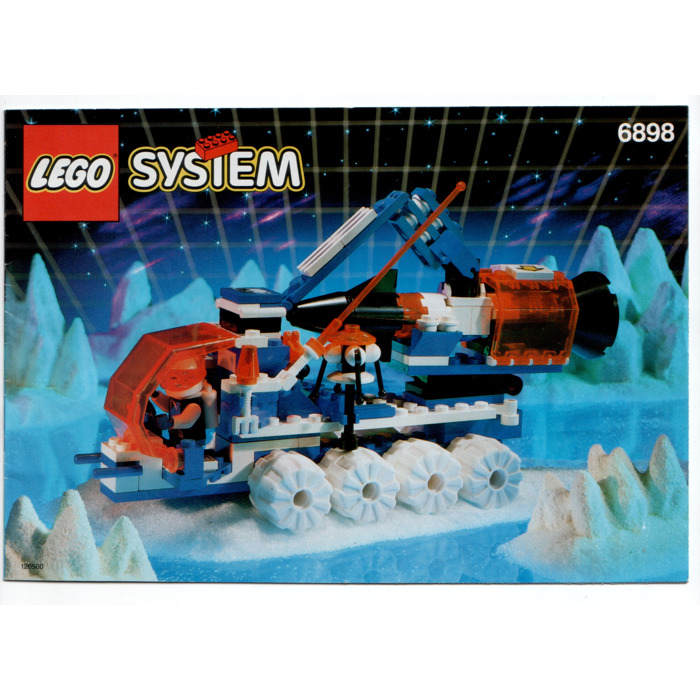 LEGO Ice Sat V Set 6898 Instructions   Brick Owl   LEGO Marketplace LEGO Ice Sat V Set 6898 Instructions