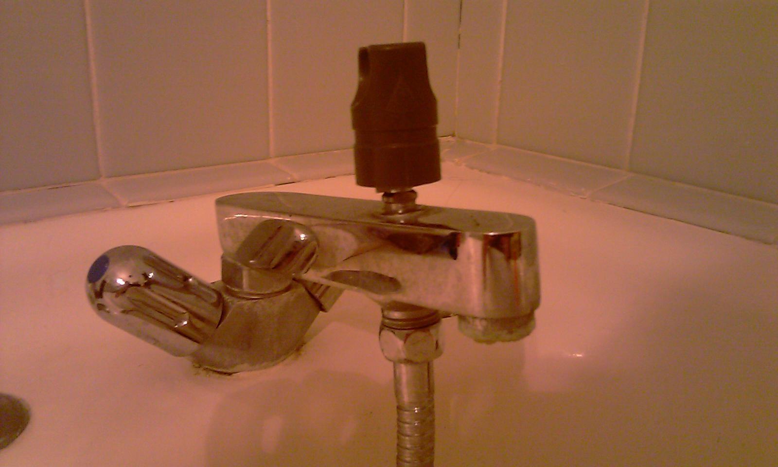 ancien robinet melangeur bain douche