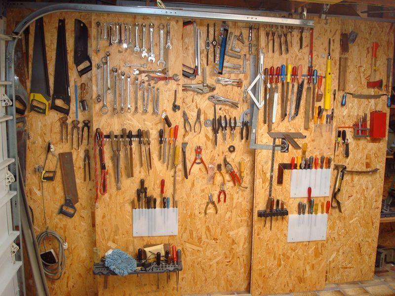 Panneaux Perfors Pour Outils