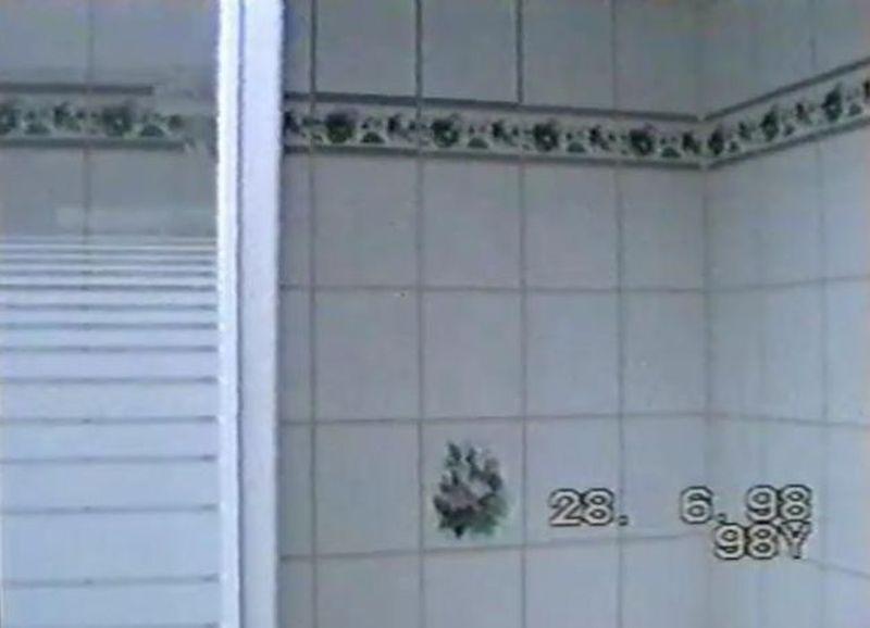 dalles pvc salle de bain et douche