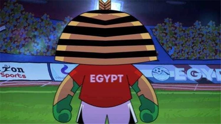 بالصور الكشف عن تميمة منتخب مصر في كأس العالم بطولات
