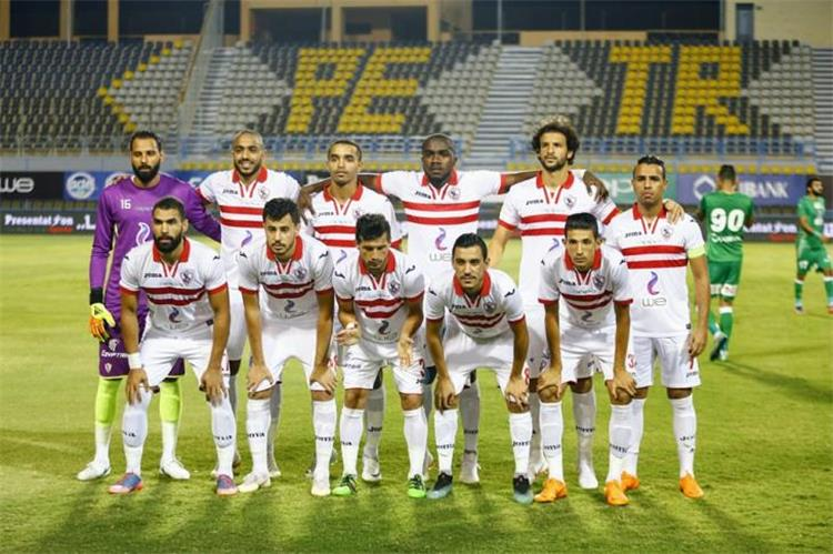 Zamalek formation for the Egyptian game