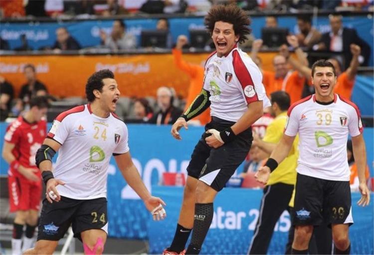 Egypt team for hand