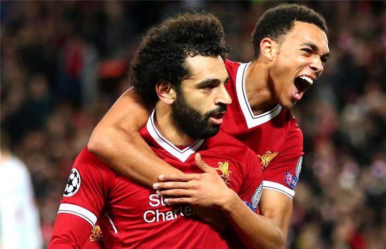 Mohamed Salah and Arnold