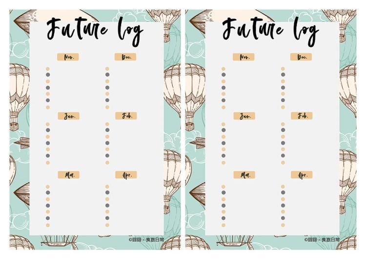 生活   半年打勾計畫,利用子彈筆記的Future log概念,打造半年規劃
