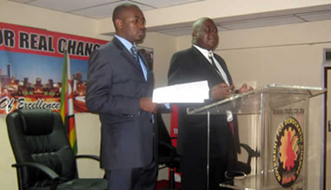 Chamisa appointed mdc president zwnews.com