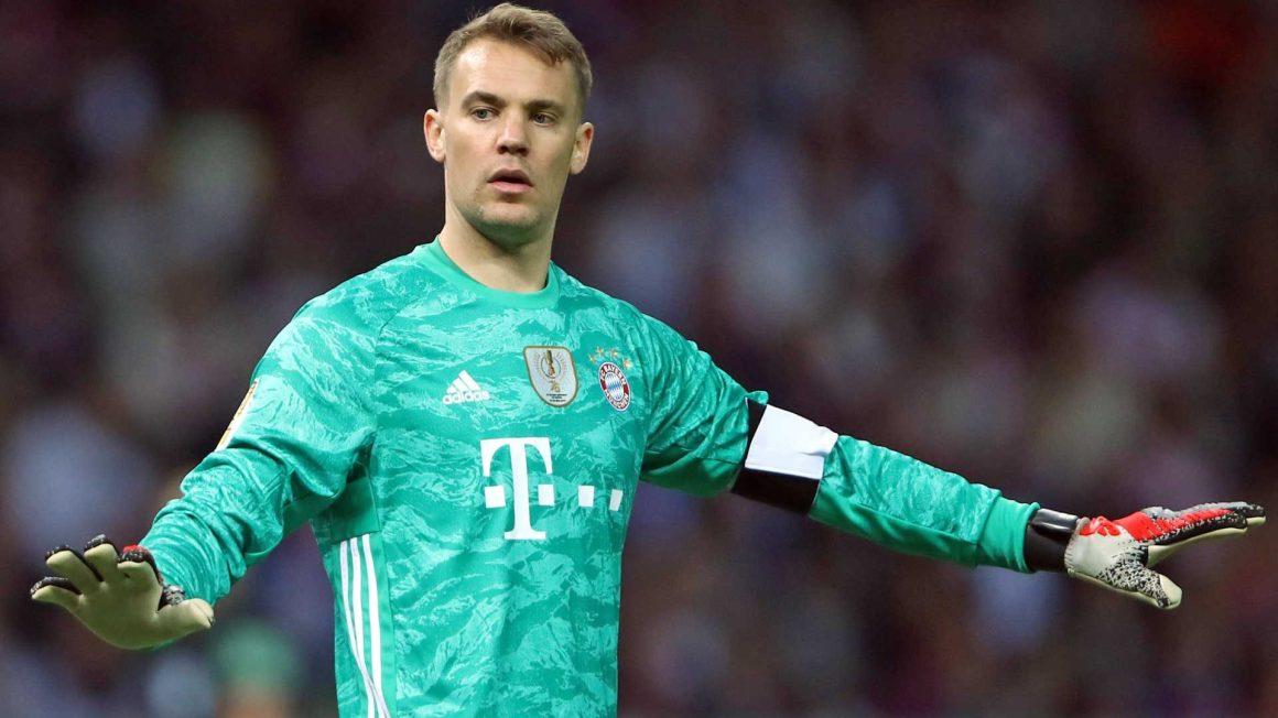 Bundesliga   Bayern Munich and Germany goalkeeper Manuel Neuer not ...
