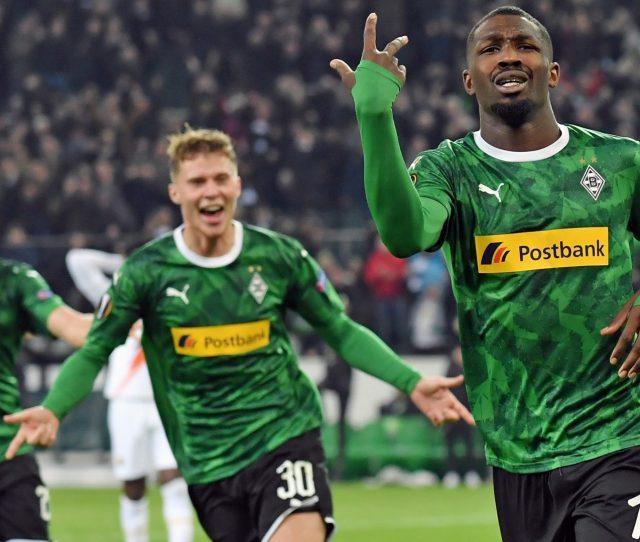 Bundesliga Marcus Thuram The Hero As Borussia Monchengladbach