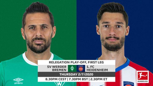 Bundesliga | Werder Bremen vs. Heidenheim: relegation play-off ...