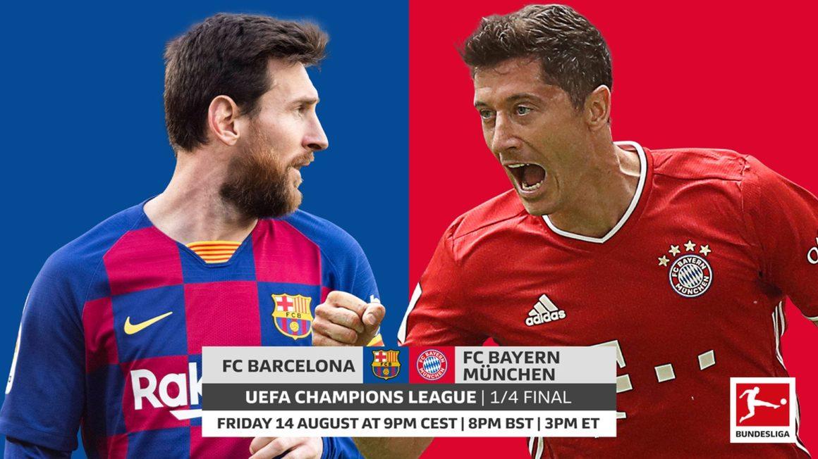 Bundesliga | Barcelona vs. Bayern Munich: UEFA Champions League ...