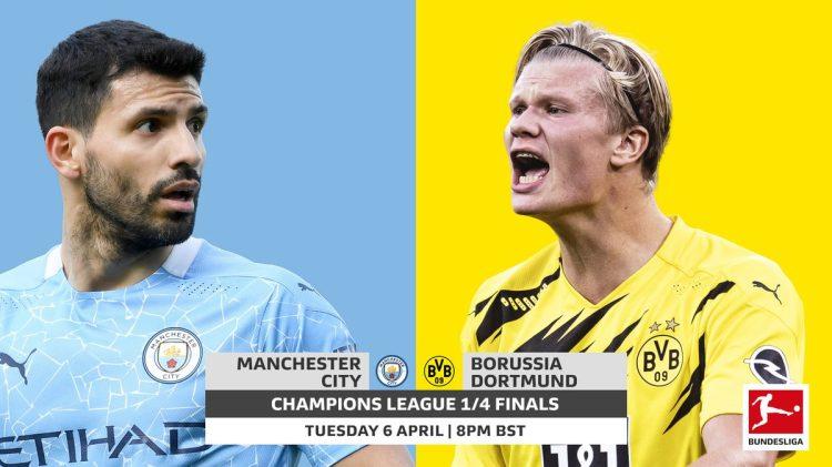 Bundesliga | Manchester City vs. Borussia Dortmund: UEFA ...