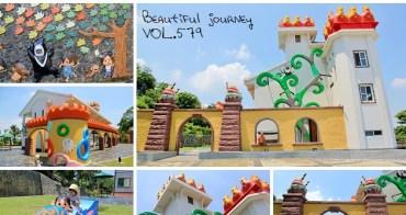 『嘉義新景點』中埔遊客中心,傑克與魔豆童話山中城堡!