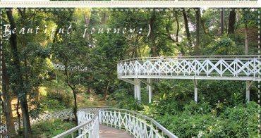 『嘉義景點』竹崎公園花仙子步道!南台灣最熱門的天空走廊~
