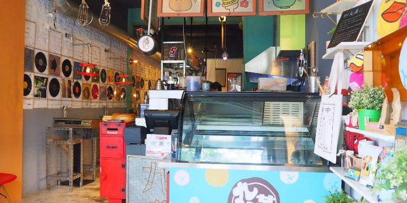 <台中早午餐> 丸滿食物所,美術館對面的老房咖啡館,懷舊味結合工業風的圓滿風格!(台中咖啡館/台中老房咖啡館/台中美術館美食/台中咖啡)