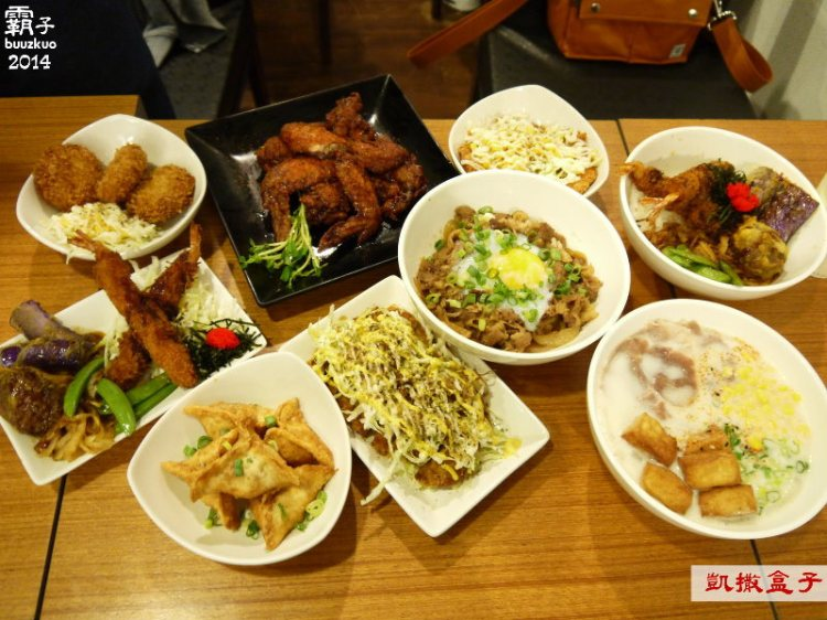 <台中˙試吃> 「凱撒盒子」日式洋食專賣店,米烏龍麵滑滑QQ真有意思 ~