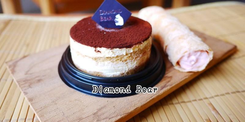 <宅配甜點> Diamond Bear 鑽石熊,水晶球內藏著美味的提拉米蘇,好精緻阿!!