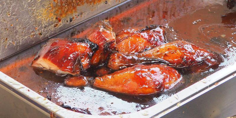<台中清水> 臘哥蜜汁燒雞,每星期只營業一天的燒臘小舖,燒雞油油亮亮,超誘人!