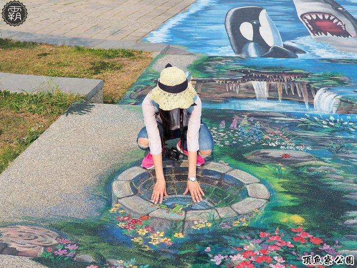 20180930175437 27 - 海線親子遊憩公園,有3D海洋彩繪圖、IG風彩虹椅、草地迷宮,占地寬廣設施齊全~