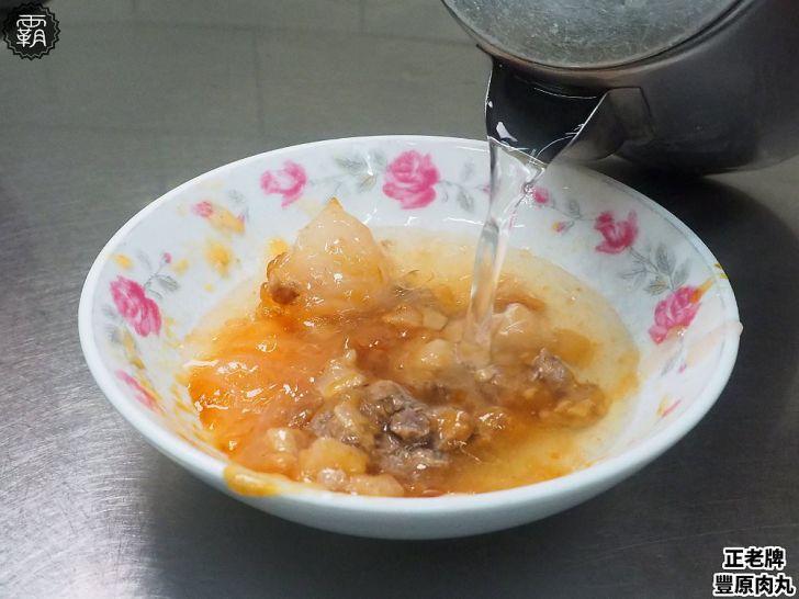 20190115184534 62 - 正老牌豐原肉丸,吃完肉丸要加入清湯一起吃是豐原人的共同記憶~