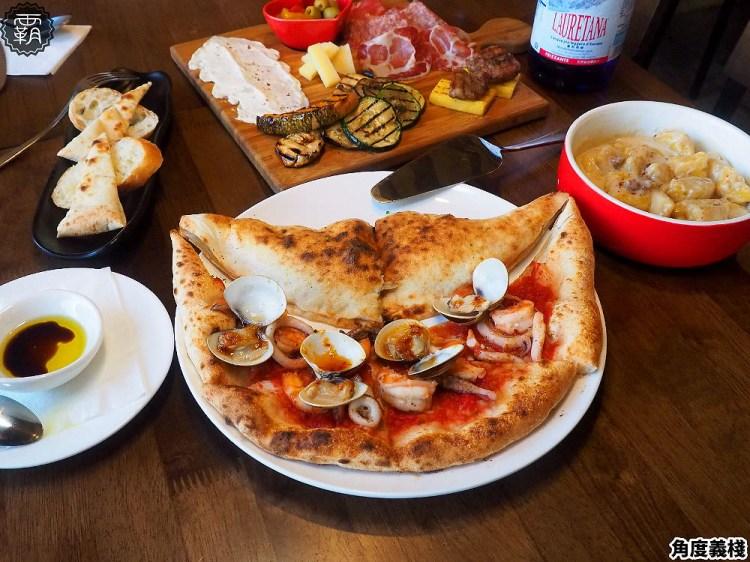<台中義式> Pizzeria L'angolo角度義棧,黎明新村內鄉村風小餐館,山海一片天披薩海陸食材一次滿足!(台中披薩/拿坡里披薩/試吃)