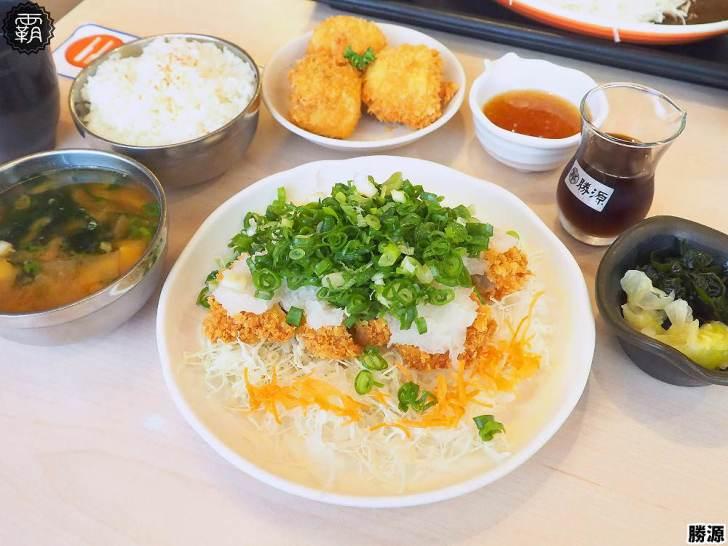 20191221224746 84 - 勝源日式炸豬排,蔥花配蘿蔔泥吃炸豬排的清爽組合~