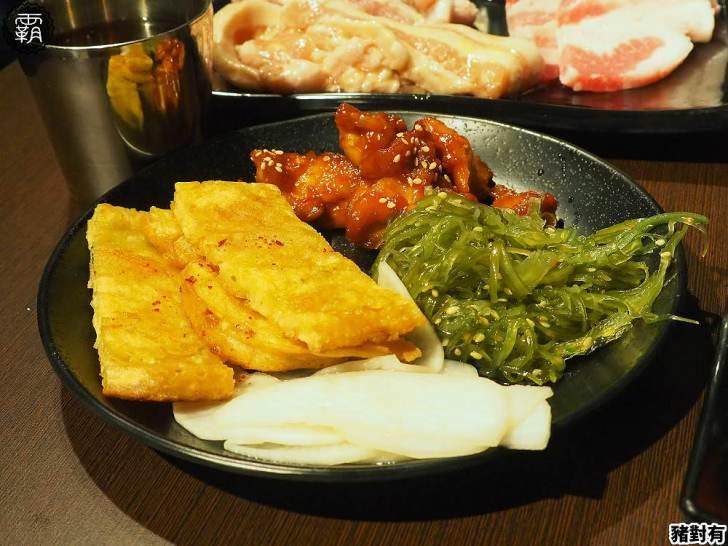 20200104181529 25 - 韓式烤肉吃到飽,豬對有豬五花肉品口味多,小菜、熟食任你拿~
