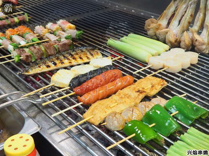 20200424174431 54 - 熱血採訪   台中營業到凌晨一點半的宵夜,帥氣小鮮肉烤給你吃,母親節還有送蛤蠣活動的兴焰炭火串燒!