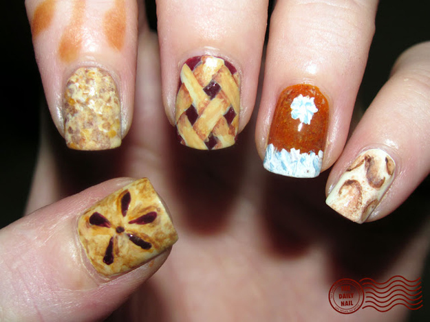 Beautiful Thanksgiving Nail Art Designs 10 Super Cute Diy Ivillage Cards