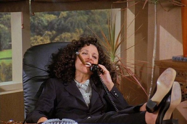53 Times Elaine Benes Was The Biggest Hot Mess On Television