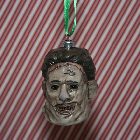 Nothing says 'tis the season like a head on your Christmas tree. Get it here.