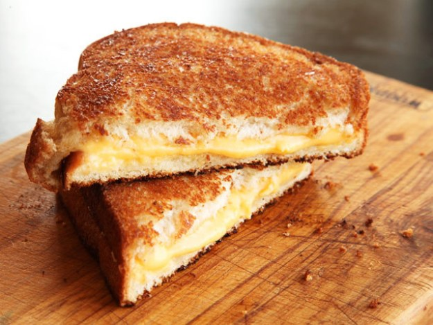 A Melty GRILLED CHEESE