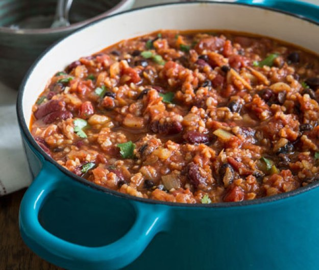 Hearty BEAN CHILI