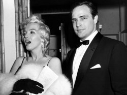 Image result for marilyn monroe and brando