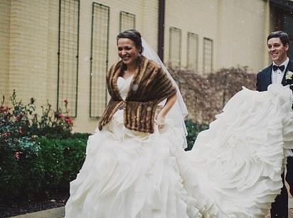 London City Winter Wedding Photographer