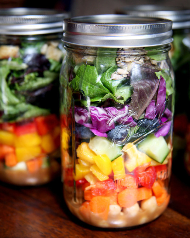 Image result for mason jar salad