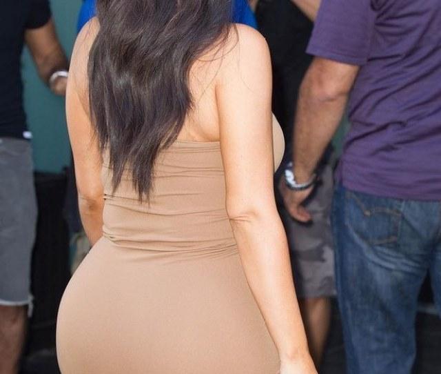 Naw Kim Kardashian Done Been Had A Fake Big Phat Ass Bruh