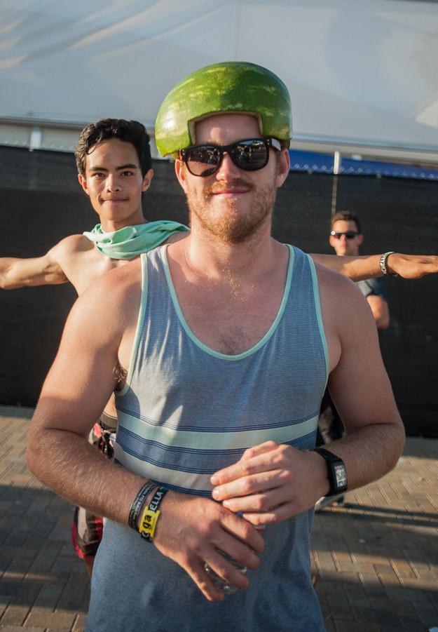 And Mr. Watermelon Helmet.