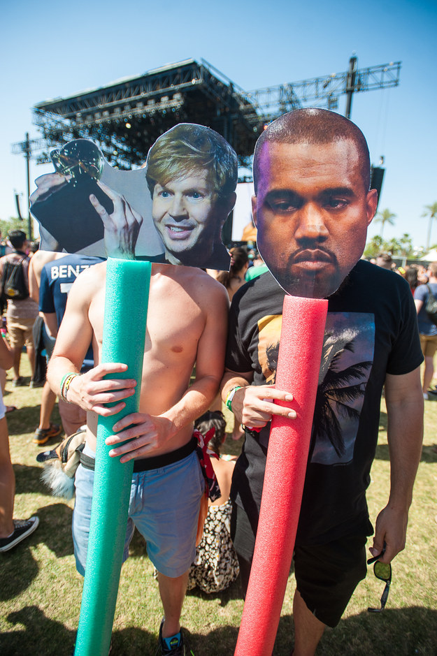 Beck and Kanye West.