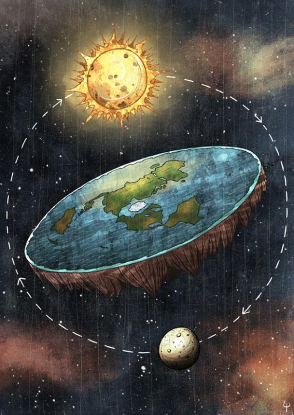 ¿Es cierto que la Sociedad de la Tierra Plana no cree en la gravedad?