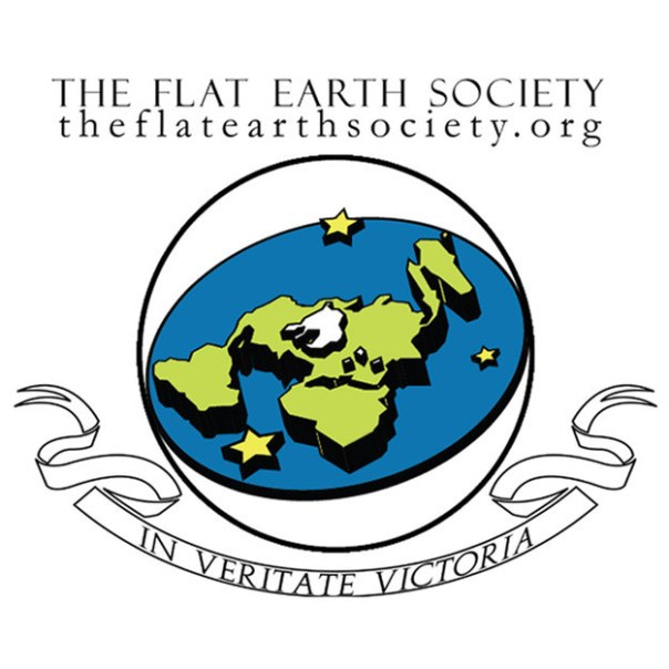 Ellos son La Sociedad de la Tierra Plana.