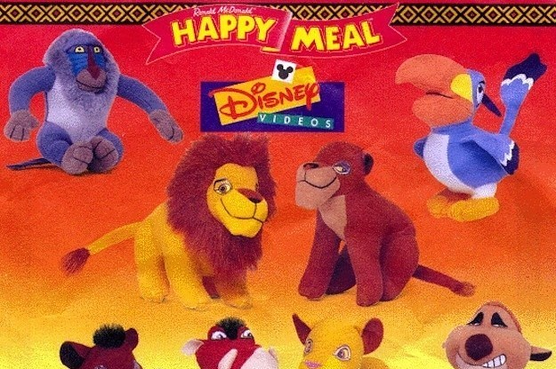 15 Happy Meal Toys From The  90s That Actually Blew