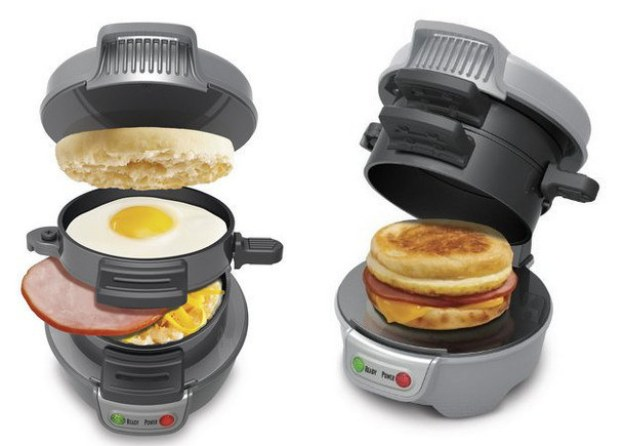 This breakfast sandwich maker: