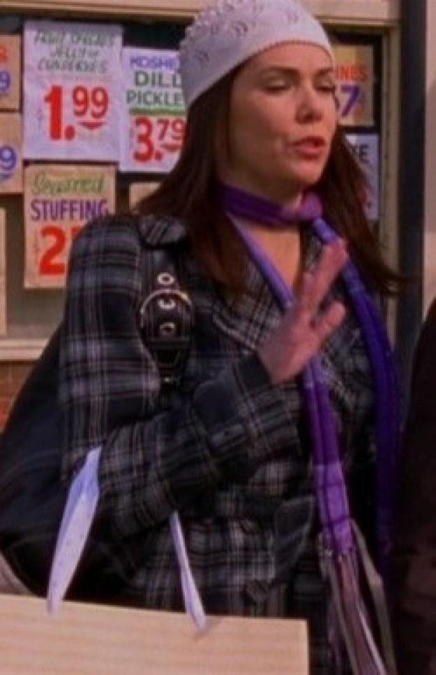 Plaid Wool Coat (Season 7)
