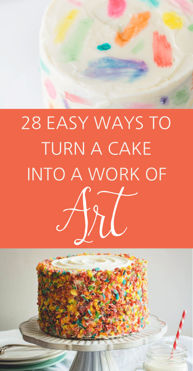 Easy Cake Decorating Ideas Beginners