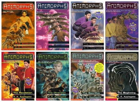 Animorphs series by K.A. Applegate