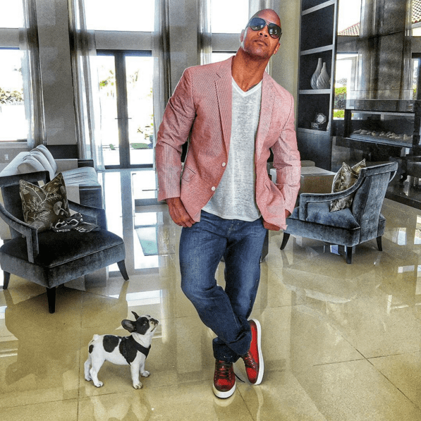 """Dwayne """"The Rock"""" Johnson is a man of many hats: actor, producer, pro-wrestler, dad, serious fitness inspiration, Instagram extraordinaire... The list goes on."""