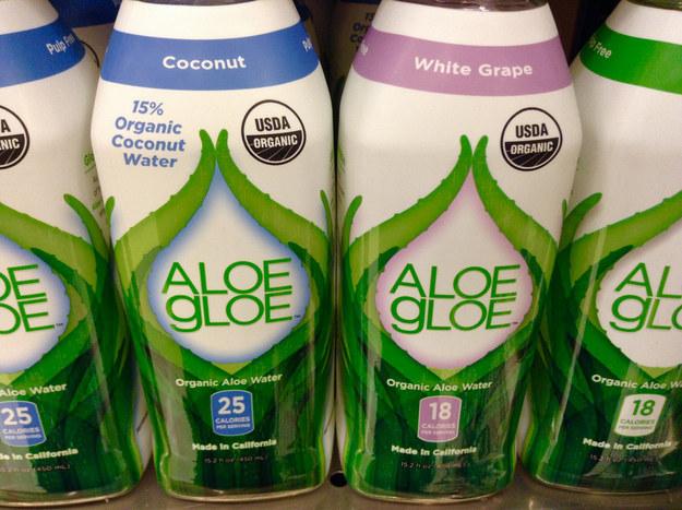 Aloe water.